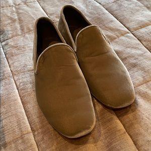 VINCE Velvet Smoking Slipper Shoes NWOTS